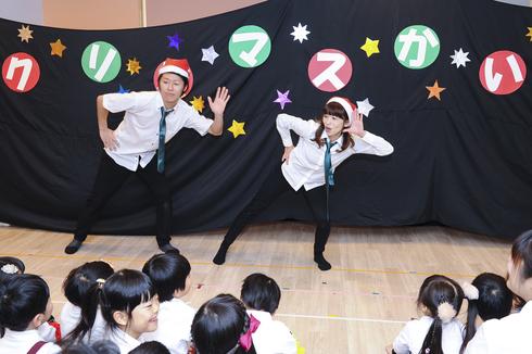 【鶴見園】クリスマス会_a0267292_1451539.jpg