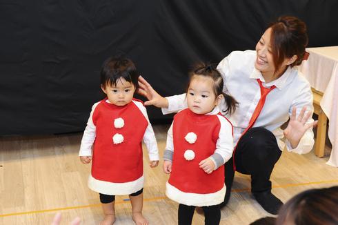 【鶴見園】クリスマス会_a0267292_146980.jpg