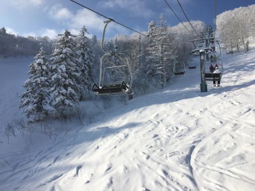 富良野スキー場⭐︎滑った後の朝ごはん_c0151965_15180925.jpg