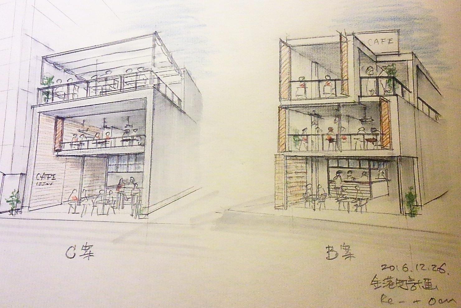 「金港町計画」スケッチ_f0230666_1410297.jpg