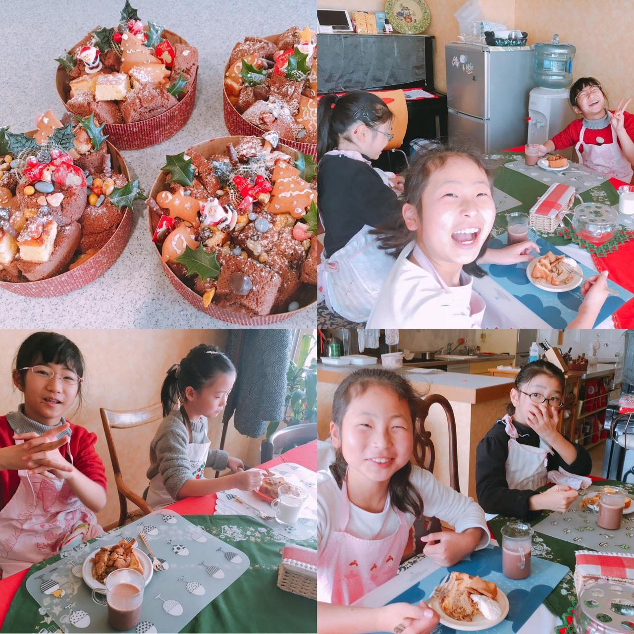 2016年キッズクリスマスケーキレッスン_f0224567_00310987.jpg