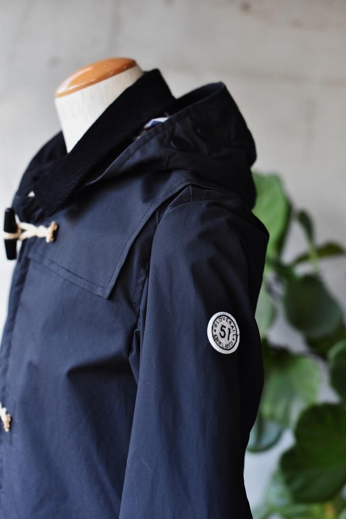 マニアな方へ。。。Gloverall ・・・ OILED CLOTH DUFFLE COAT JACKET!★!_d0152280_17104515.jpg