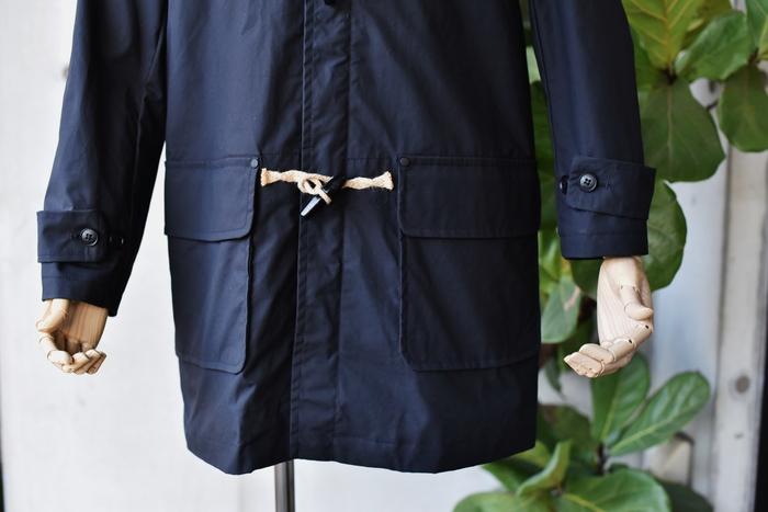マニアな方へ。。。Gloverall ・・・ OILED CLOTH DUFFLE COAT JACKET!★!_d0152280_1710837.jpg