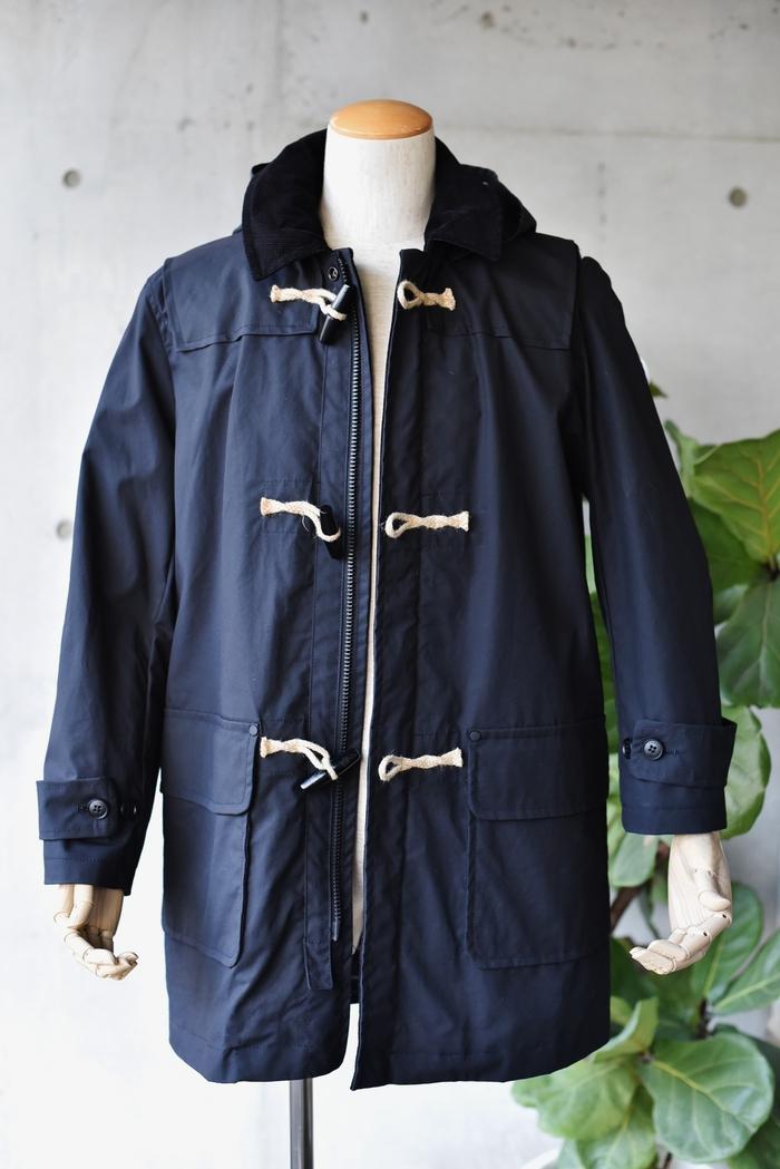 マニアな方へ。。。Gloverall ・・・ OILED CLOTH DUFFLE COAT JACKET!★!_d0152280_171139.jpg