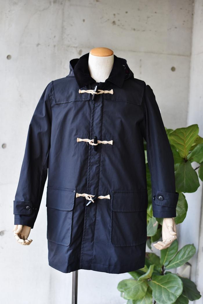 マニアな方へ。。。Gloverall ・・・ OILED CLOTH DUFFLE COAT JACKET!★!_d0152280_1791018.jpg