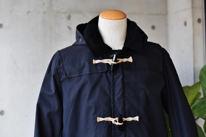 マニアな方へ。。。Gloverall ・・・ OILED CLOTH DUFFLE COAT JACKET!★!_d0152280_1793052.jpg