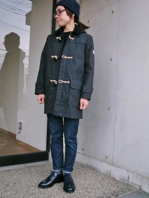 マニアな方へ。。。Gloverall ・・・ OILED CLOTH DUFFLE COAT JACKET!★!_d0152280_19111299.jpg