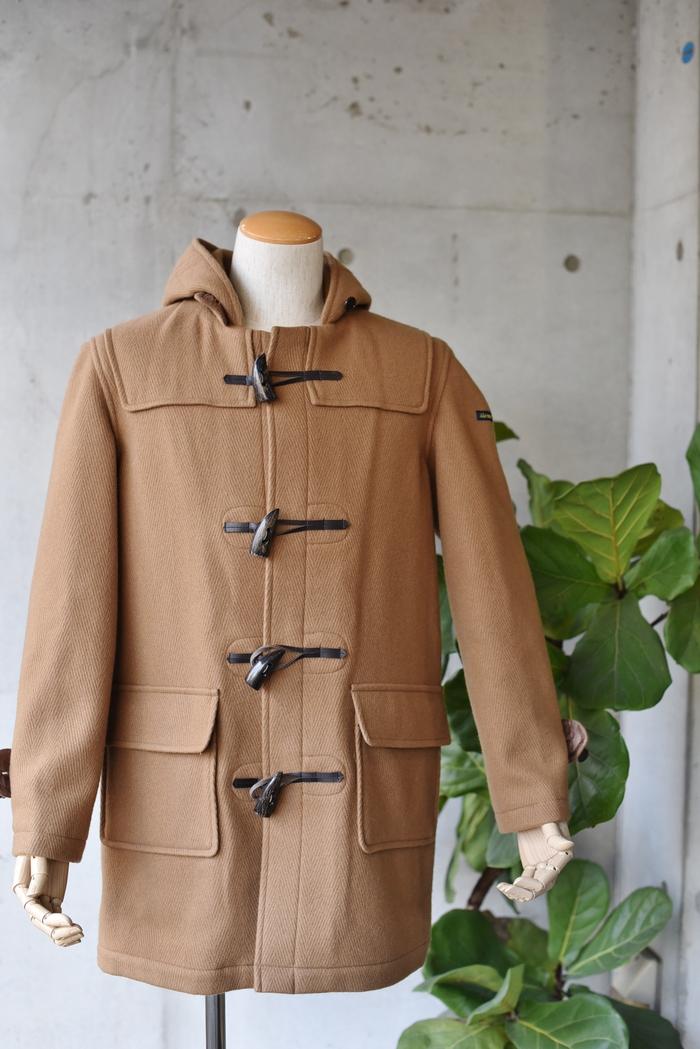 マニアな方へ。。。Gloverall ・・・ OILED CLOTH DUFFLE COAT JACKET!★!_d0152280_19132623.jpg