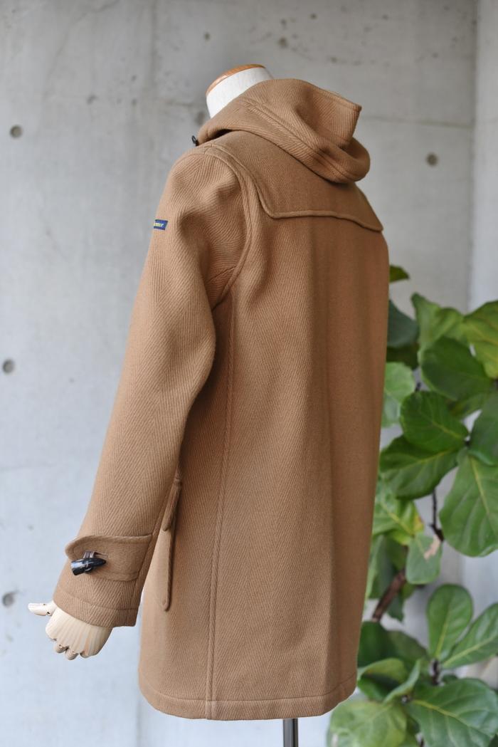 マニアな方へ。。。Gloverall ・・・ OILED CLOTH DUFFLE COAT JACKET!★!_d0152280_1914161.jpg