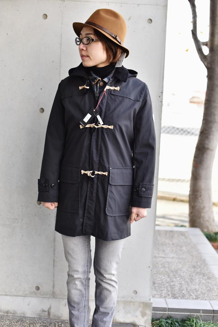 マニアな方へ。。。Gloverall ・・・ OILED CLOTH DUFFLE COAT JACKET!★!_d0152280_1924869.jpg