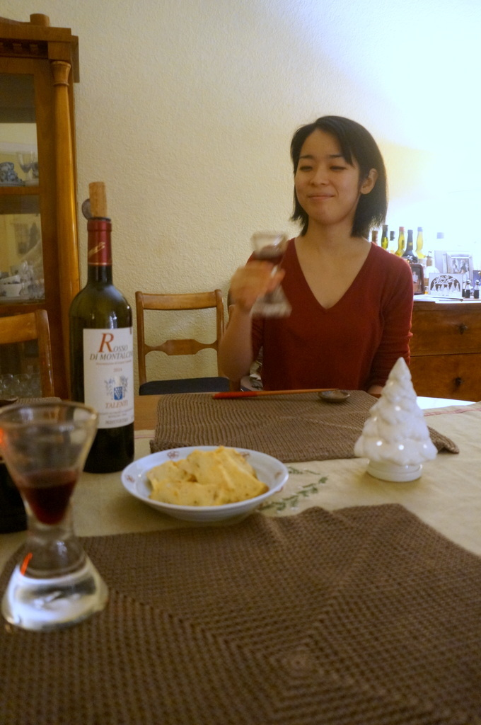 Rosso di Montalcinoと白トリュフ_c0180686_17515881.jpg