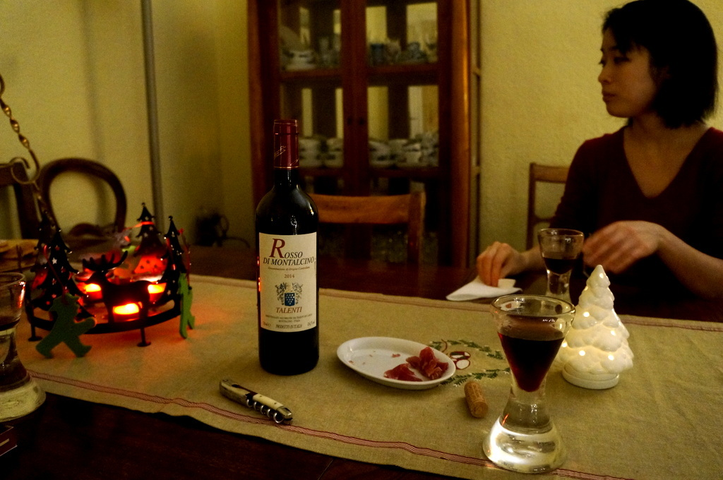Rosso di Montalcinoと白トリュフ_c0180686_17520959.jpg