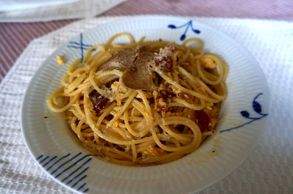 Rosso di Montalcinoと白トリュフ_c0180686_17530114.jpg