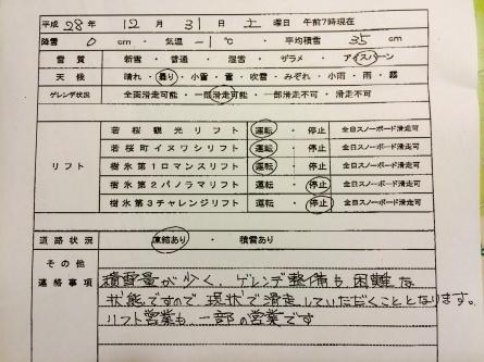 12月31日(土)ゲレンデ情報!_f0101226_07544201.jpg
