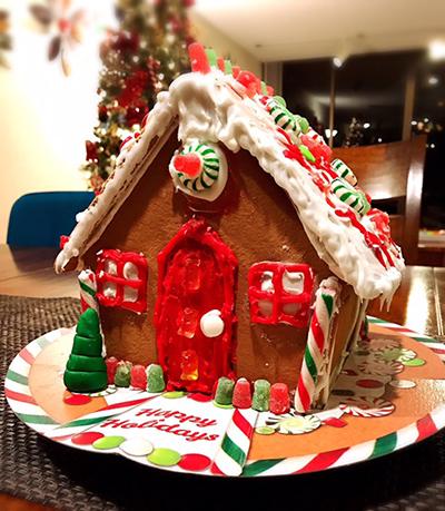 今年最後のリボンレイレッスン&クリスマス_c0196240_14583600.jpg