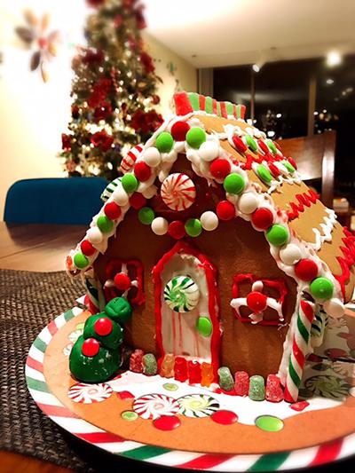 今年最後のリボンレイレッスン&クリスマス_c0196240_14584225.jpg