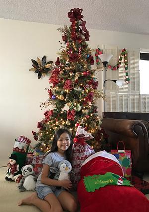 今年最後のリボンレイレッスン&クリスマス_c0196240_14585401.jpg