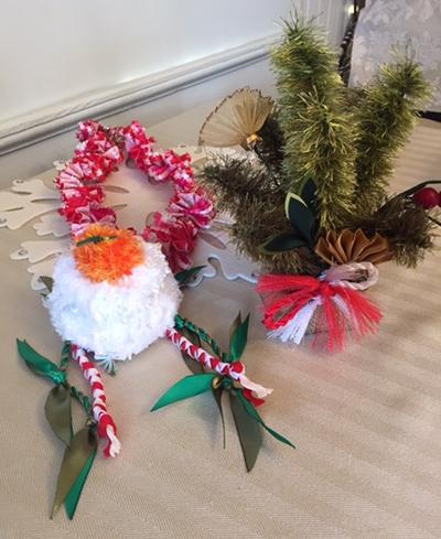 今年最後のリボンレイレッスン&クリスマス_c0196240_15000274.jpg