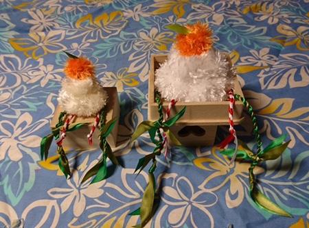 今年最後のリボンレイレッスン&クリスマス_c0196240_15013687.jpg