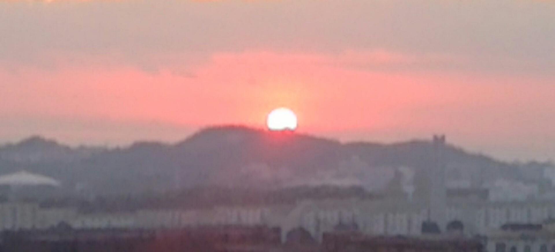 神戸須磨から大晦日の夕陽_a0098174_22033907.jpg