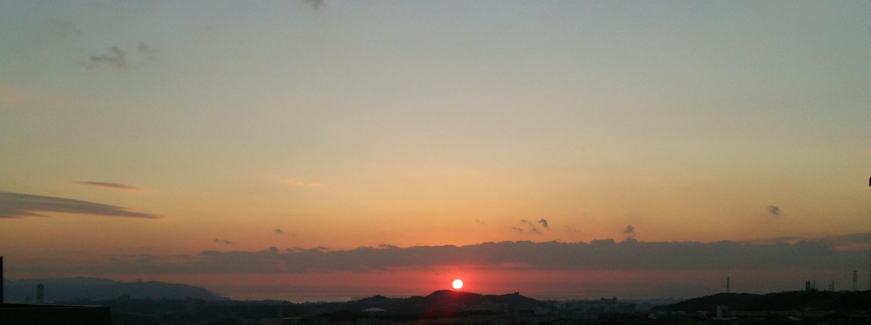 神戸須磨から大晦日の夕陽_a0098174_22294353.jpg