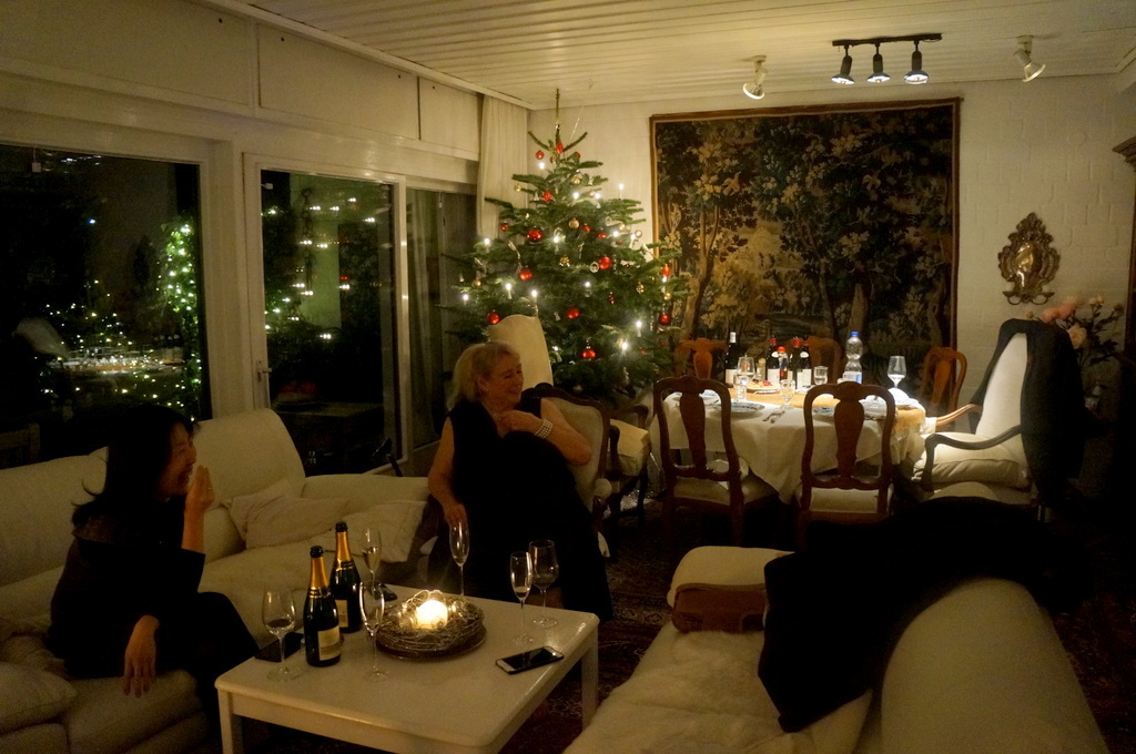 クリスマスイヴ、Witt邸にて_c0180686_22472095.jpg