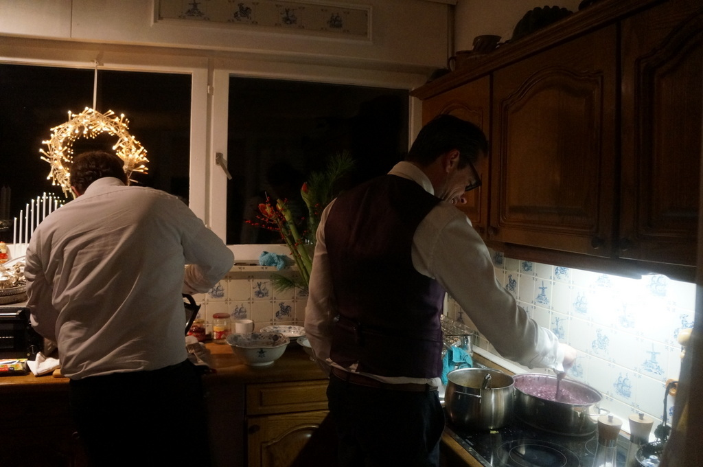 クリスマスイヴ、Witt邸にて_c0180686_22475167.jpg