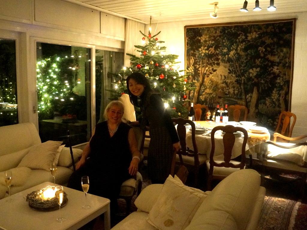 クリスマスイヴ、Witt邸にて_c0180686_23025223.jpg