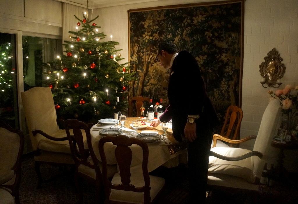 クリスマスイヴ、Witt邸にて_c0180686_23032254.jpg