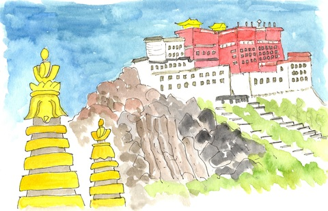 大晦日になりました・・・チベットの旅 そのⅠ_a0075589_2110750.jpg