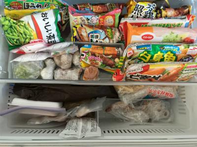 冷凍冷蔵庫の おかたづけと掃除に♪ ② Before &After_a0239890_16273369.jpg