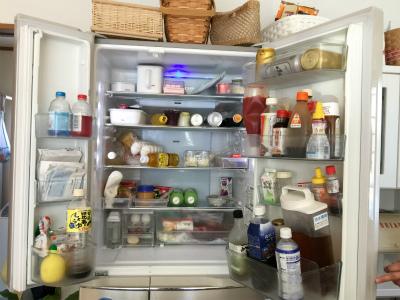 冷凍冷蔵庫の おかたづけと掃除に♪ ② Before &After_a0239890_16275932.jpg