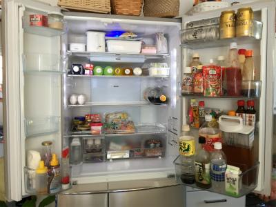 冷凍冷蔵庫の おかたづけと掃除に♪ ② Before &After_a0239890_16282026.jpg