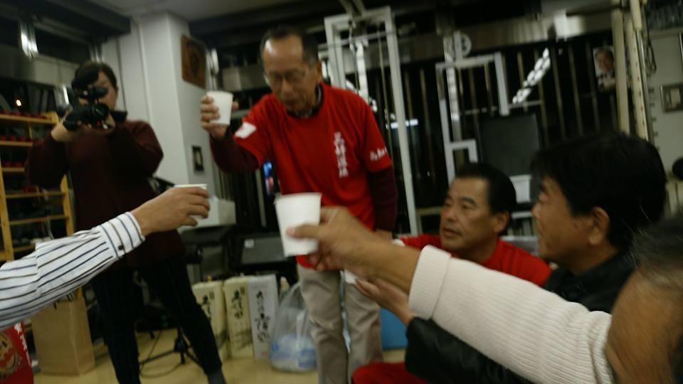 中谷元会長(衆議院議員 前防衛大臣)を迎えて、第82回鳥の水炊き会盛大に開催!_c0186691_17213365.jpg