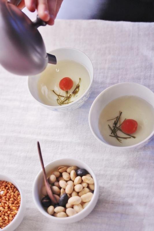 新年の大福茶_b0220318_13224492.jpg
