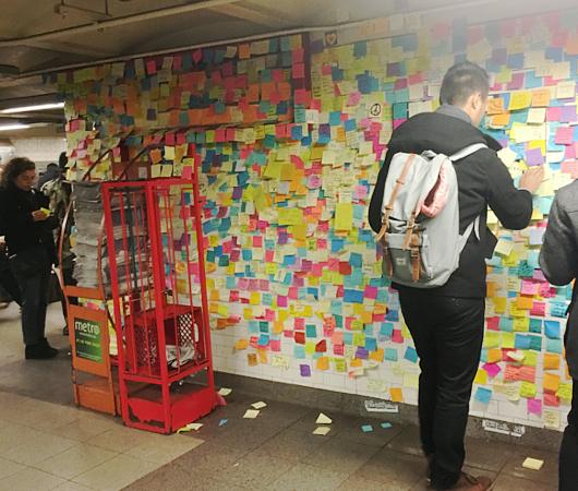 ユニオン・スクエア駅構内のサブウェイ・セラピー_b0007805_22491141.jpg