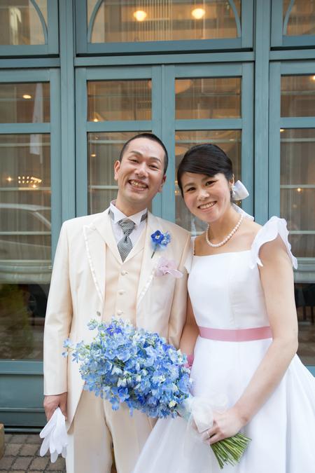 新郎新婦様からのメール ホテルモントレ銀座様の花嫁花婿さまより 花の夫婦 _a0042928_1739732.jpg