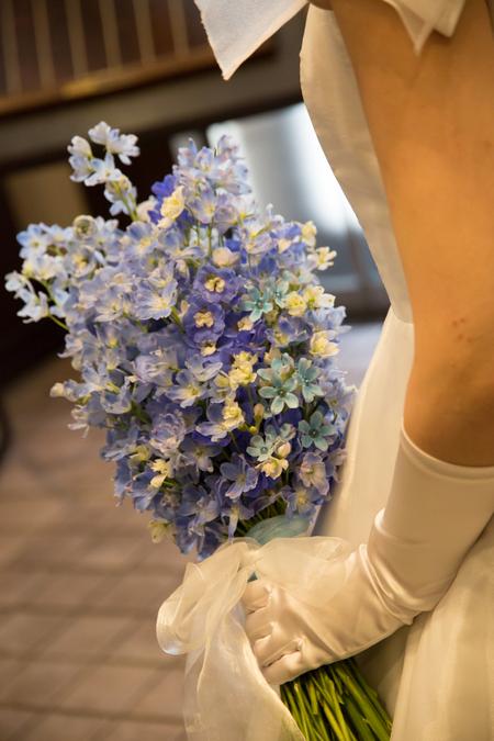 新郎新婦様からのメール ホテルモントレ銀座様の花嫁花婿さまより 花の夫婦 _a0042928_1832488.jpg