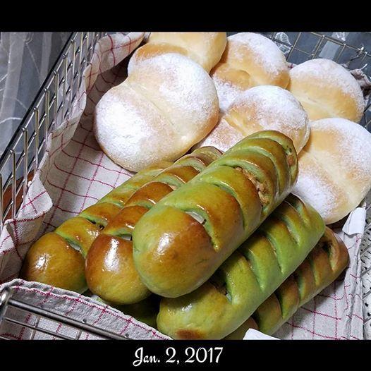 パン始め 3種類_a0105740_07535581.jpg