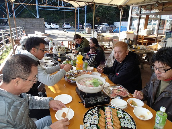 つばきマリーナ・エミークラブ餅つき会_a0077071_16423577.jpg