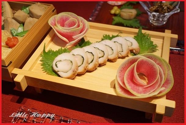 料理飾りに!前菜に!おつまみに!いろいろ使える大根花(レシピ)_d0269651_15231118.jpg