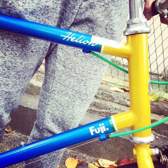 2017 FUJI HELION へリオン fuji フジ 自転車女子 ミニベロ おしゃれ自転車 クロスバイク 自転車ガール_b0212032_20173553.jpg