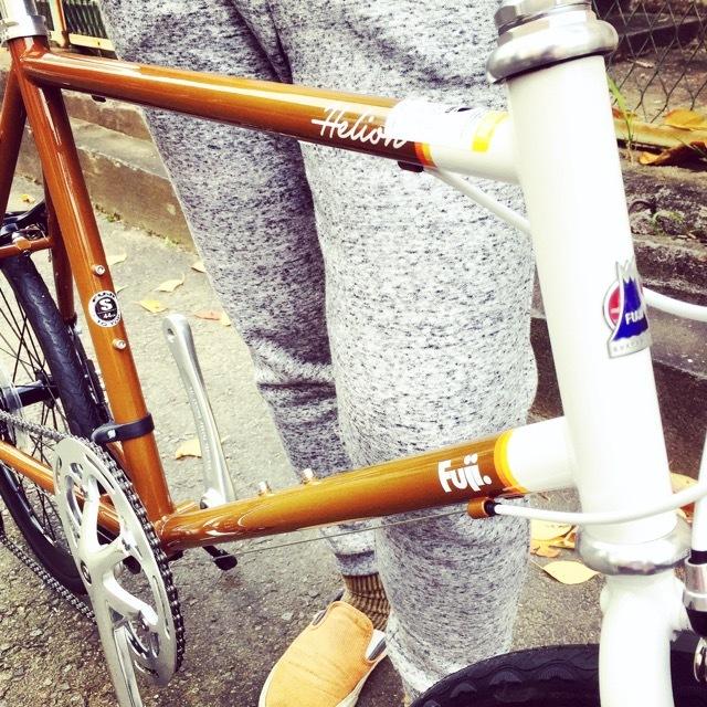 2017 FUJI HELION へリオン fuji フジ 自転車女子 ミニベロ おしゃれ自転車 クロスバイク 自転車ガール_b0212032_20180765.jpg