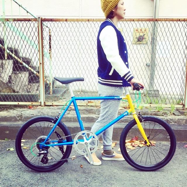 2017 FUJI HELION へリオン fuji フジ 自転車女子 ミニベロ おしゃれ自転車 クロスバイク 自転車ガール_b0212032_20201282.jpg