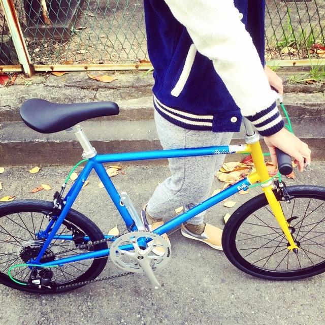 2017 FUJI HELION へリオン fuji フジ 自転車女子 ミニベロ おしゃれ自転車 クロスバイク 自転車ガール_b0212032_20202327.jpg