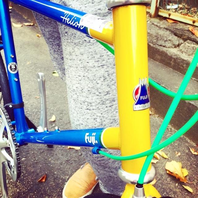 2017 FUJI HELION へリオン fuji フジ 自転車女子 ミニベロ おしゃれ自転車 クロスバイク 自転車ガール_b0212032_20204266.jpg