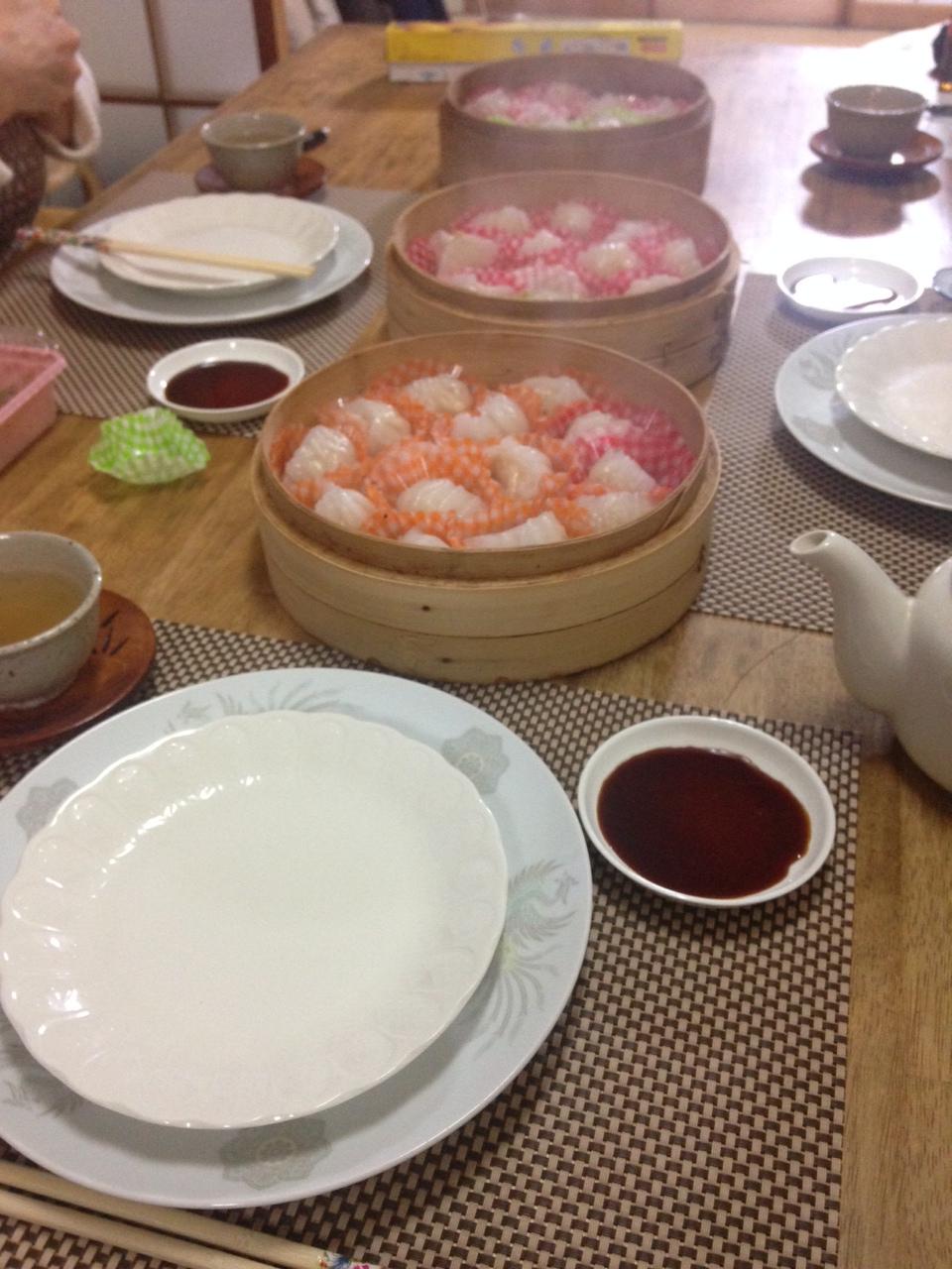 蝦蒸し餃子レッスンとパンのプライベートレッスン_a0175348_8283476.jpg
