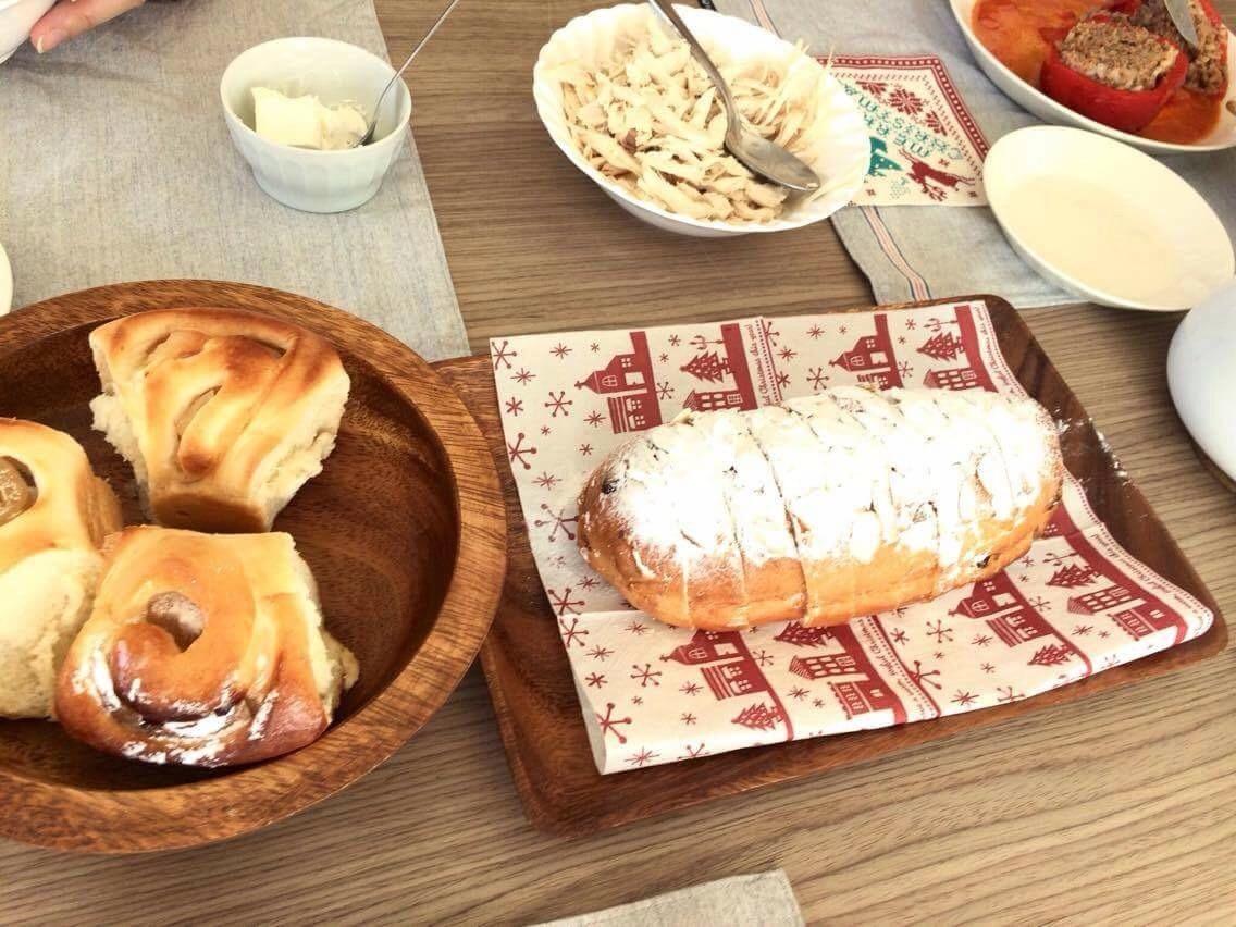 【開催報告】クリスマスを楽しもう♡マンデルシュトーレン&ルーマニア料理教室_d0226963_21193832.jpg