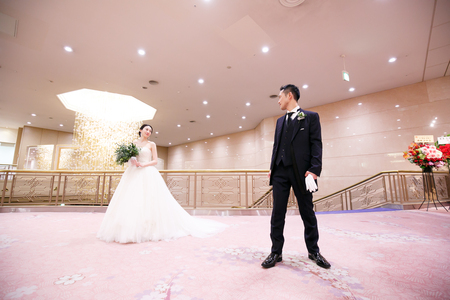 新郎新婦様からのメール 明治記念館様へ 花婿様に、いいね、と言われるブーケ_a0042928_234234.jpg