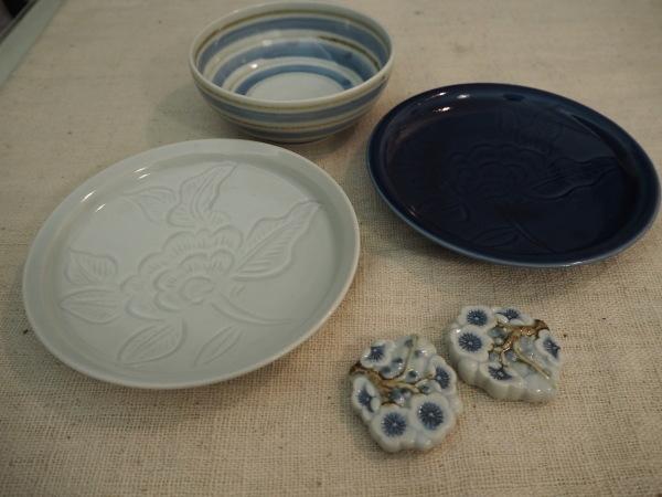 廣政毅さんの取り皿と箸置き_b0132442_16303160.jpg